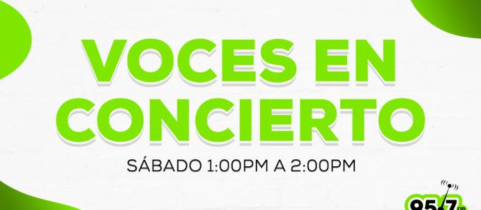 Voces en concierto